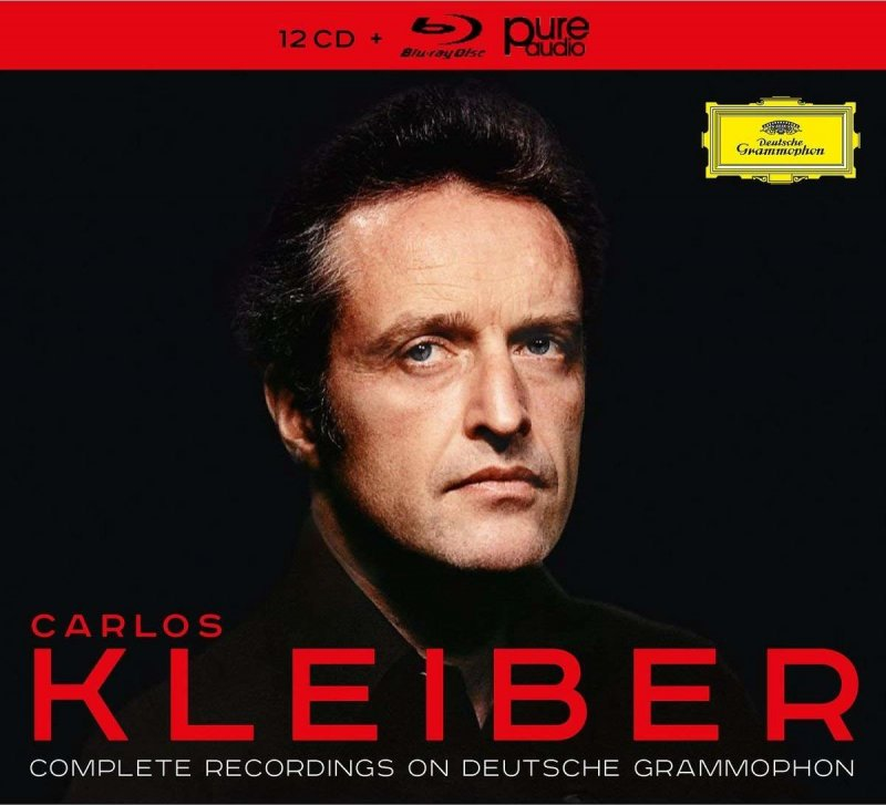 Image of   Carlos Kleiber - Complete Recordings On Deutsche Grammophon (cd + Blu-ray) - CD