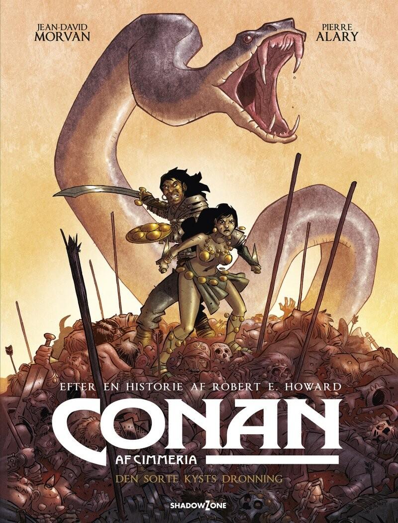 Image of   Conan Af Cimmeria - Den Sorte Kysts Dronning - Robert E. Howard - Jean-david Morvan - Pierre Alary - Tegneserie