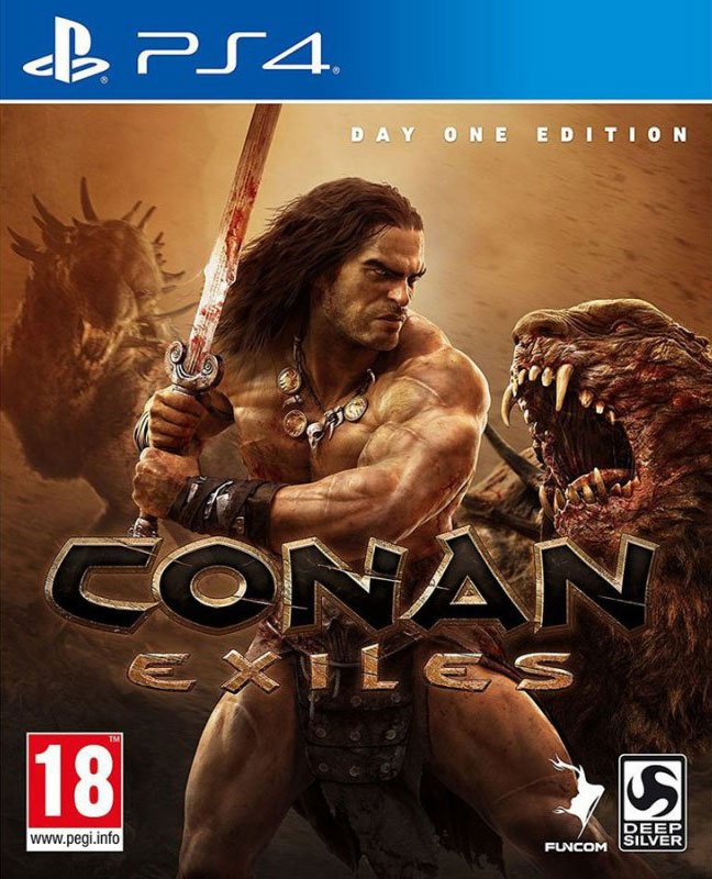Image of   Conan Exiles: Day One Edition - PS4