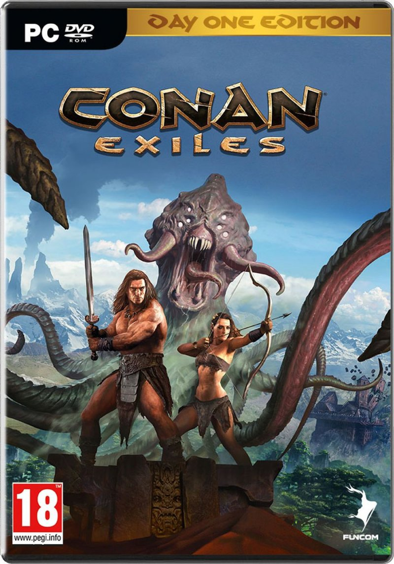 Image of   Conan Exiles: Day One Edition - PC