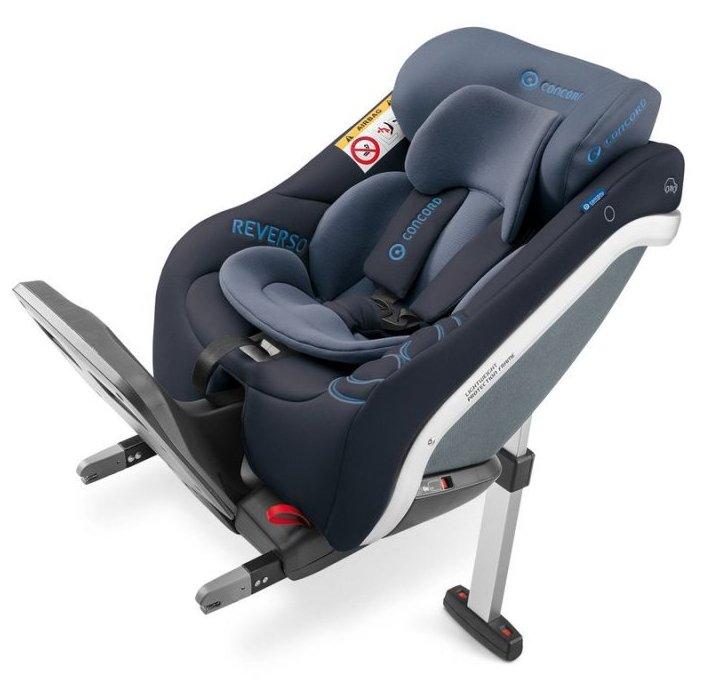 Concord Reverso Plus Autostol Nyfødt Til 23 Kg - Blå