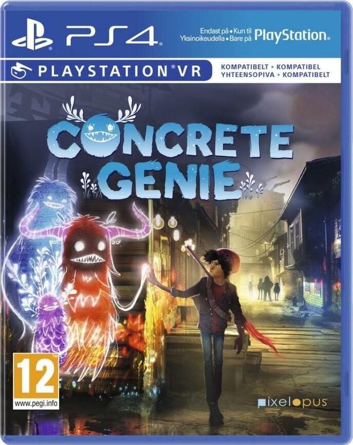 Image of   Concrete Genie (nordic) (psvr) - PS4