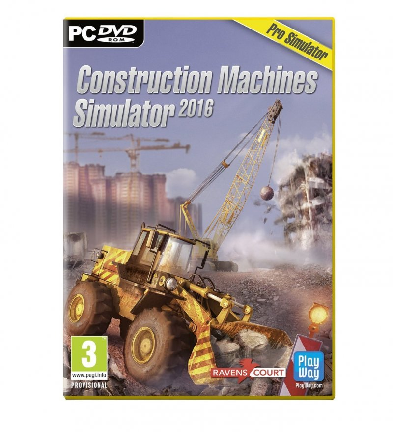 Image of   Construction Machines Simulator (2016) - PC