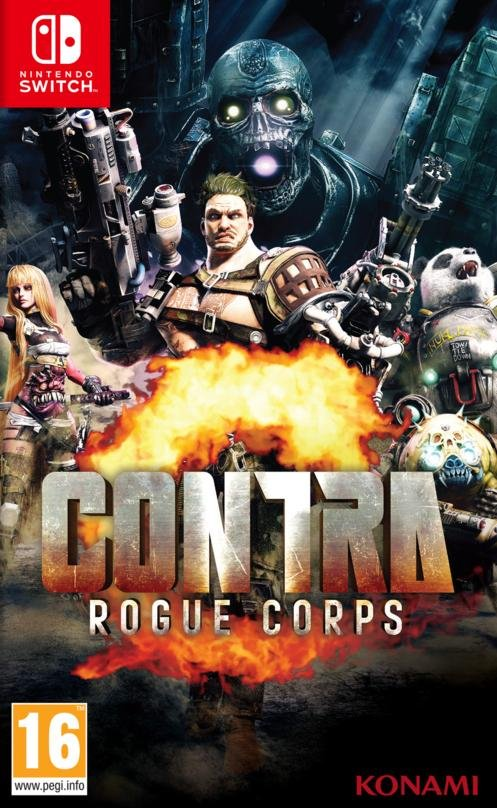 Image of   Contra - Rogue Corps - Nintendo Switch