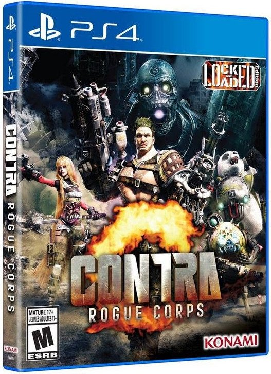 Image of   Contra - Rogue Corps - PS4