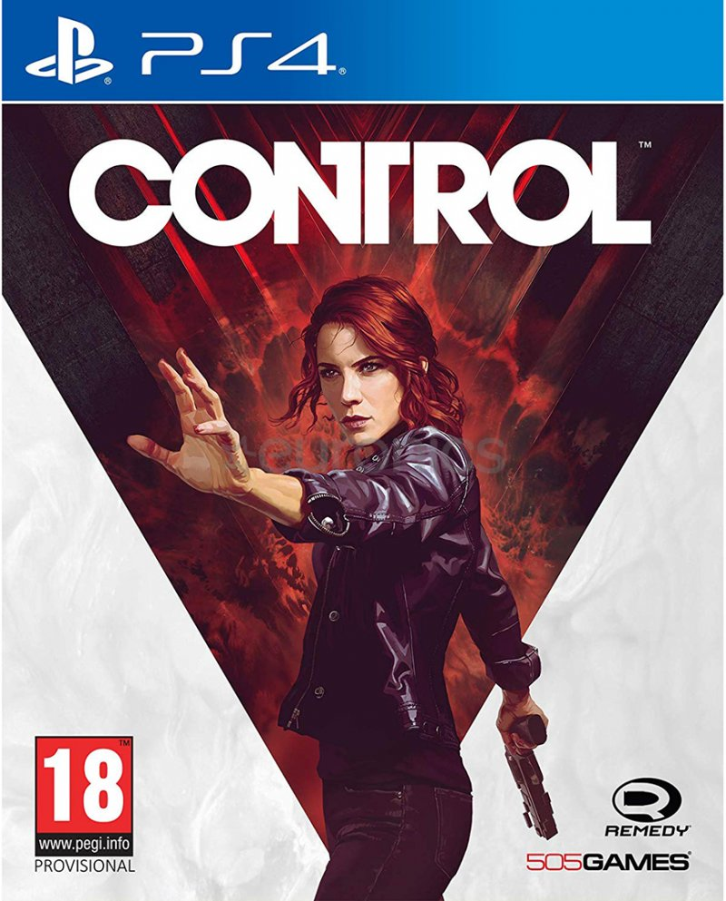 Image of   Control - Retail Exclusive Edition - Nordisk - PS4