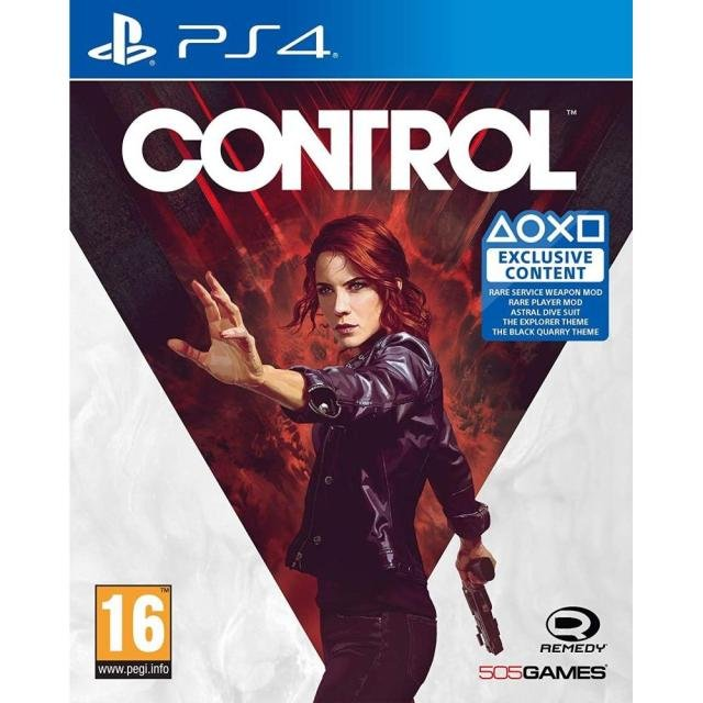 Image of   Control - Nordisk - PS4