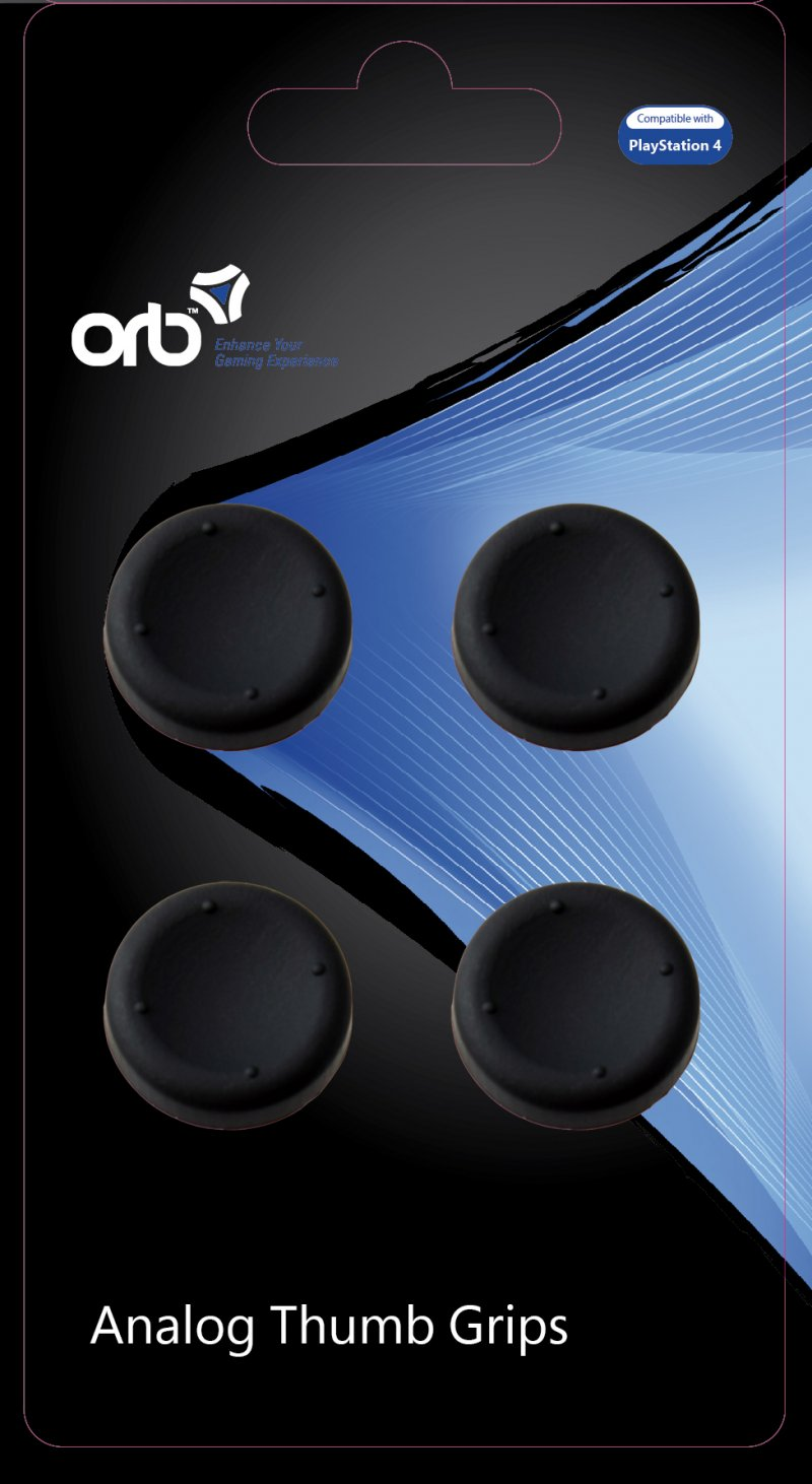 Image of   Ps4 Tilbehør - Controller Thumb Grips - 4-pack