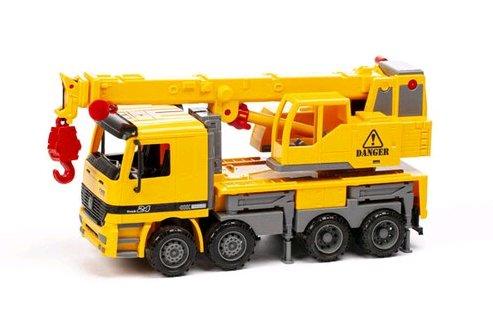 Image of   Contruck - Kranbil Legetøj 36 Cm