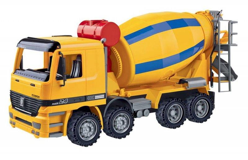 Image of   Contruck - Lastbil Legetøj Med Betonblander 41 Cm.