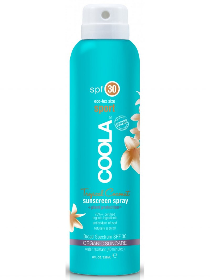 Image of   Coola Sport Solcreme Spray Spf30 - Tropical Coconut - 236 Ml