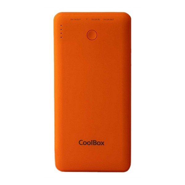 Image of   Coolbox - Usb Powerbank Med 10.000 Mah - Coo-pb10k - Orange