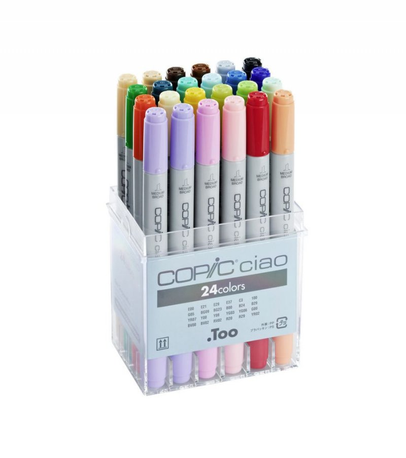 Copic Ciao Tusser - 24 Stk.