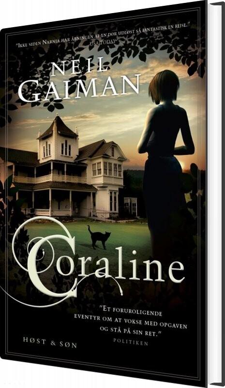 Billede af Coraline, Jubilæumsudgave - Neil Gaiman - Bog