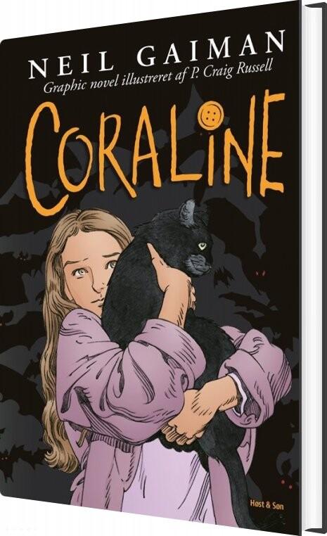 Coraline - Neil Gaiman - Bog