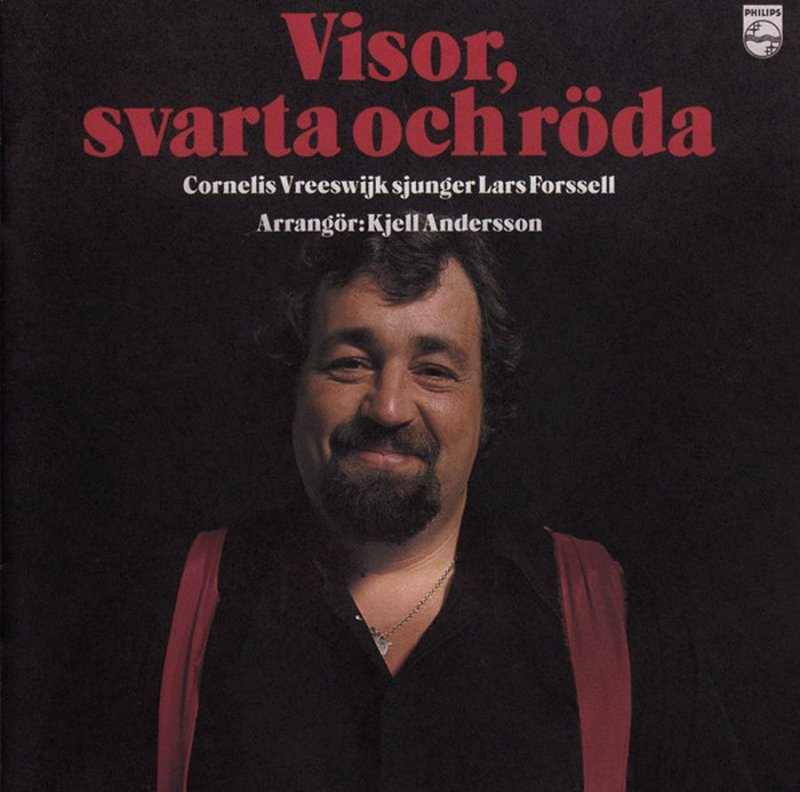Image of   Cornelis Vreeswijk - Visor Svarta Och Röda (limited Rsd 2017 Red Vinyl Edition) - Vinyl / LP