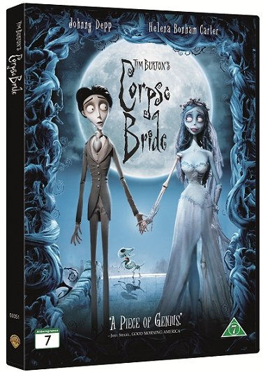 Image of   Corpse Bride - DVD - Film
