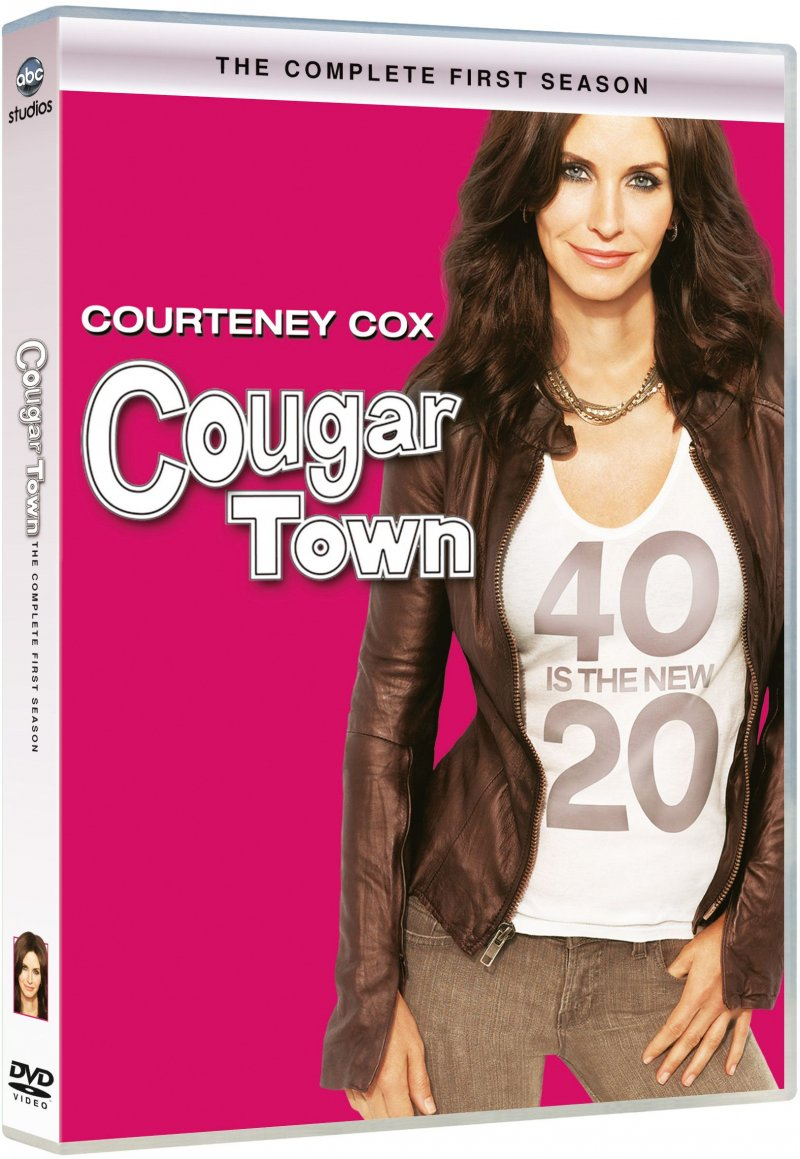 Image of   Cougar Town - Sæson 1 - DVD - Tv-serie