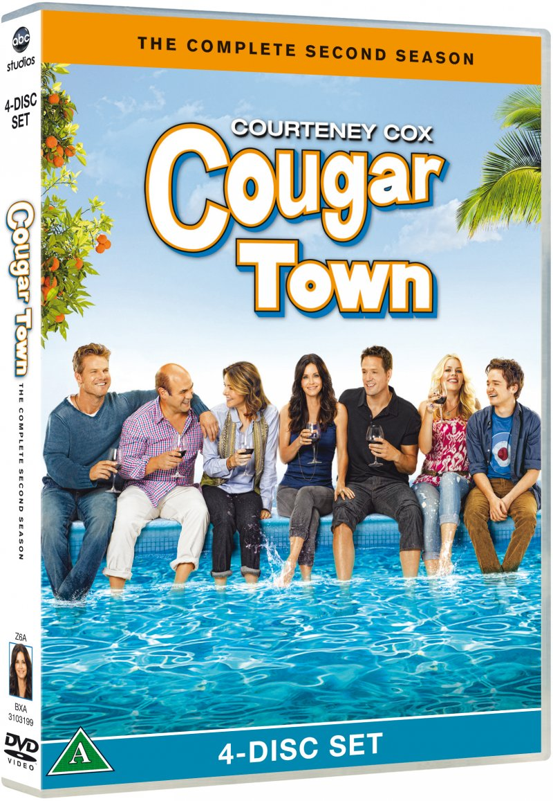 Image of   Cougar Town - Sæson 2 - Dvd - DVD - Tv-serie
