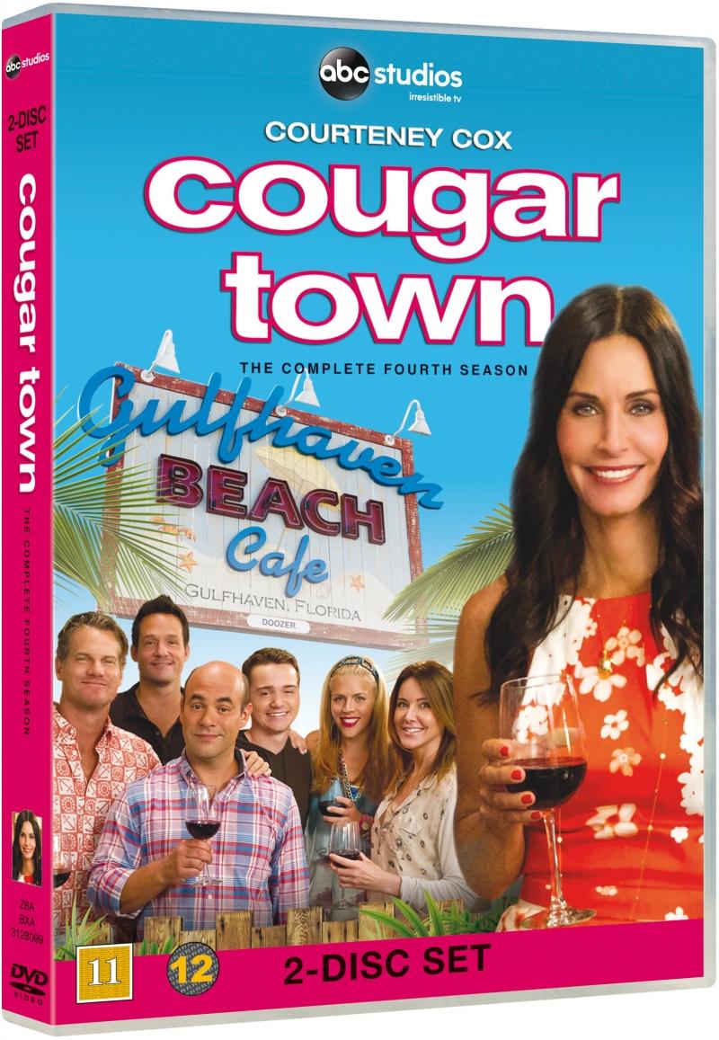 Image of   Cougar Town - Sæson 4 - DVD - Tv-serie
