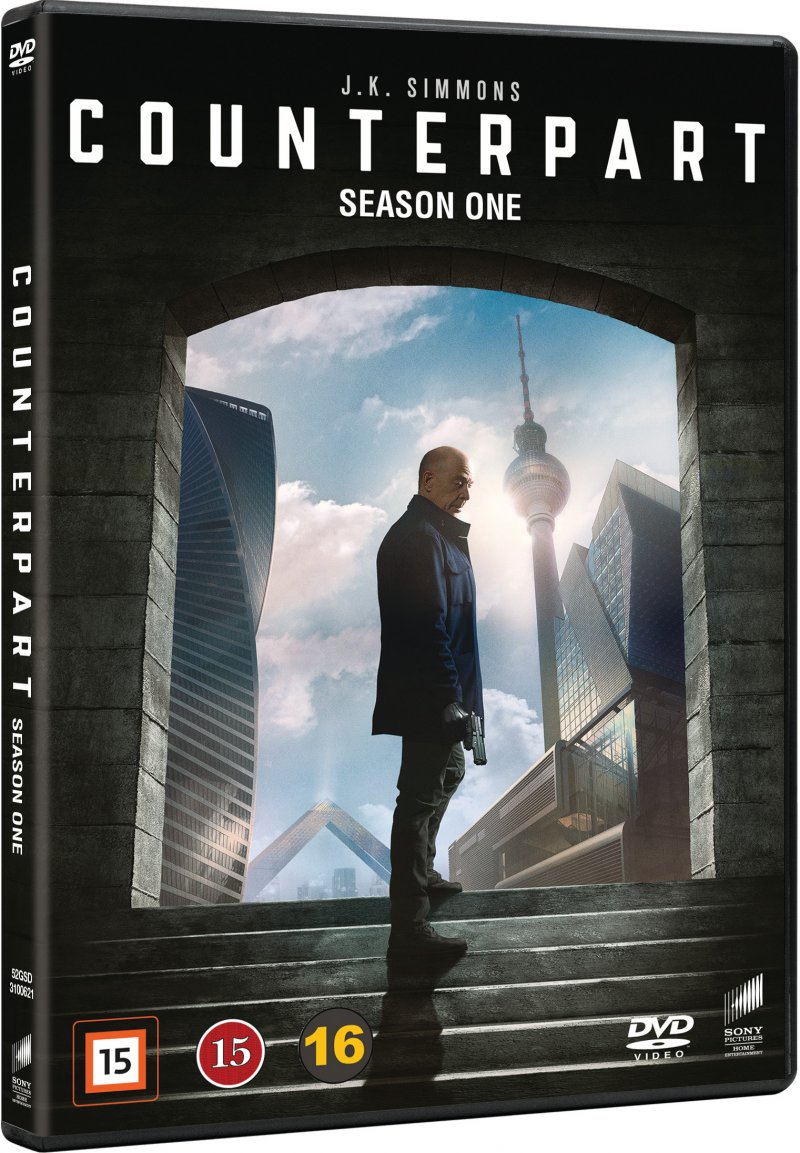 Image of   Counterpart - Sæson 1 - DVD - Tv-serie