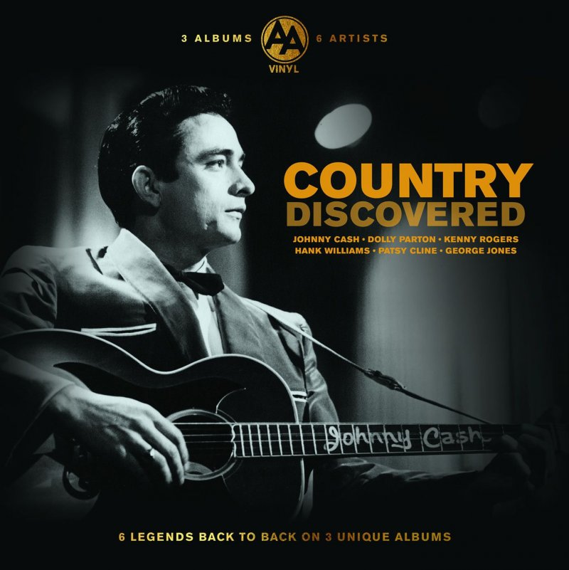 Image of   The Country Vinyl Discovered Collection - Vinyl / LP