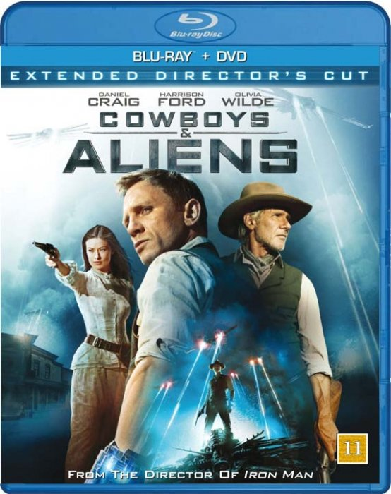 Image of   Cowboys And Aliens - Extended Directors Cut (blu-ray+dvd) - Blu-Ray