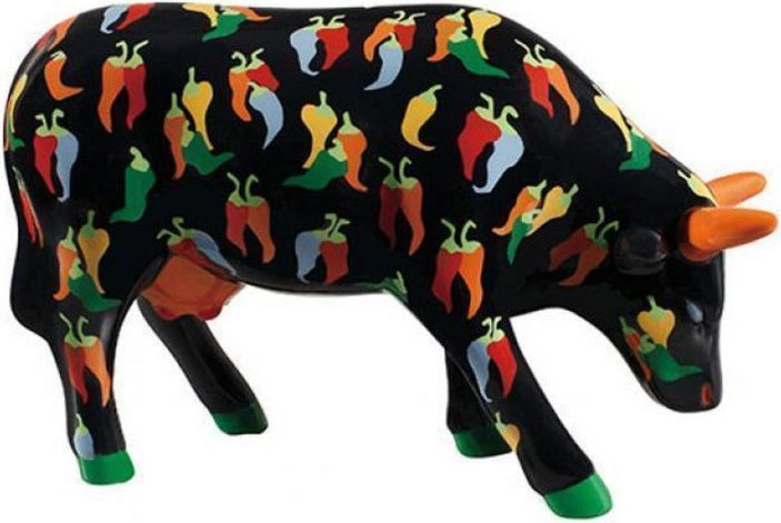 Image of   Cow Parade Ko - Chilies Con Carne - Mellem - 15,5x10cm