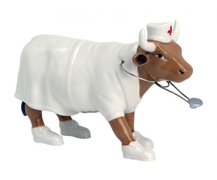 Image of   Cow Parade Ko - Nurse Nightencow - Mellem - 16,5 X 11cm