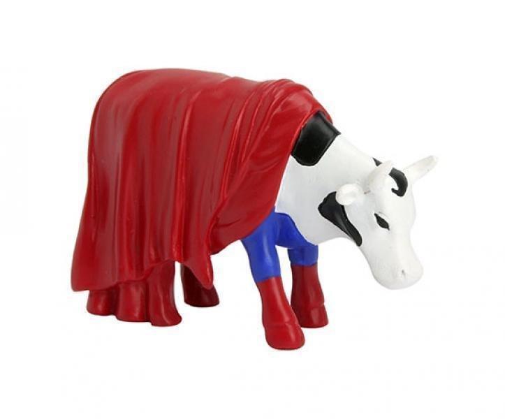 Image of   Cow Parade Ko - Super Cow / Superhelte Ko - Lille
