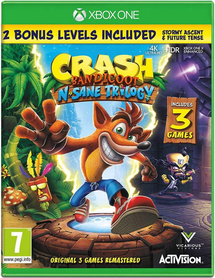Image of   Crash Bandicoot - N'sane Trilogy Remastered - Xbox One