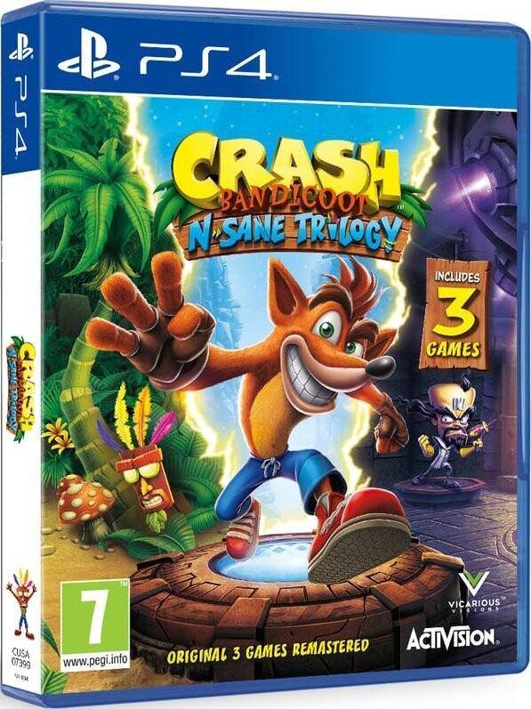 Image of   Crash Bandicoot - N'sane Trilogy Remastered - PS4