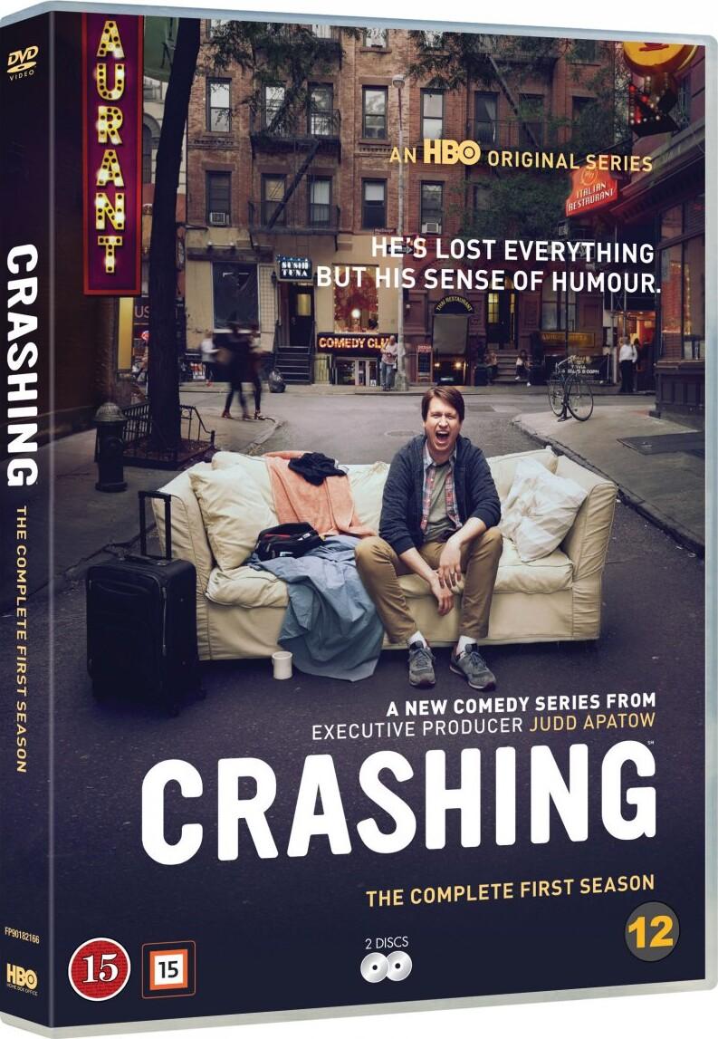 Image of   Crashing - Sæson 1 - Hbo - DVD - Tv-serie