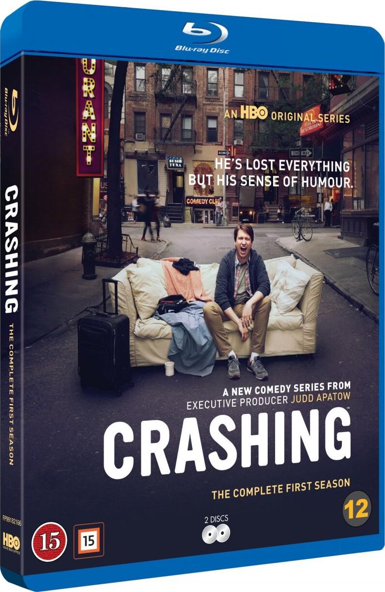 Image of   Crashing - Sæson 1 - Hbo - Blu-Ray - Tv-serie
