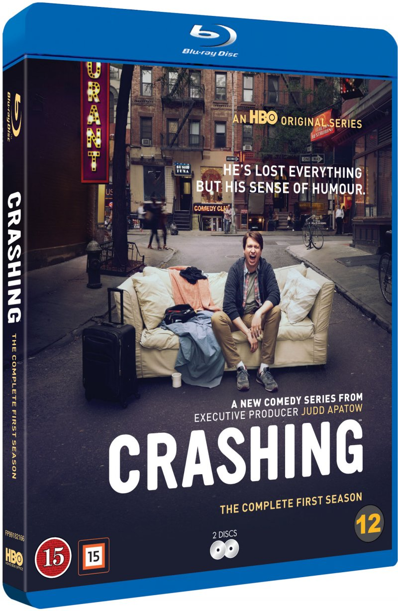 Image of   Crashing - Sæson 1 - Hbo - Blu-Ray - Tv-serie