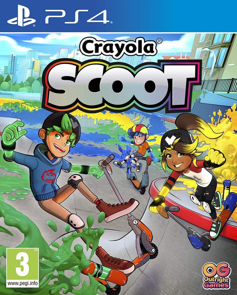 Image of   Crayola Scoot - PS4