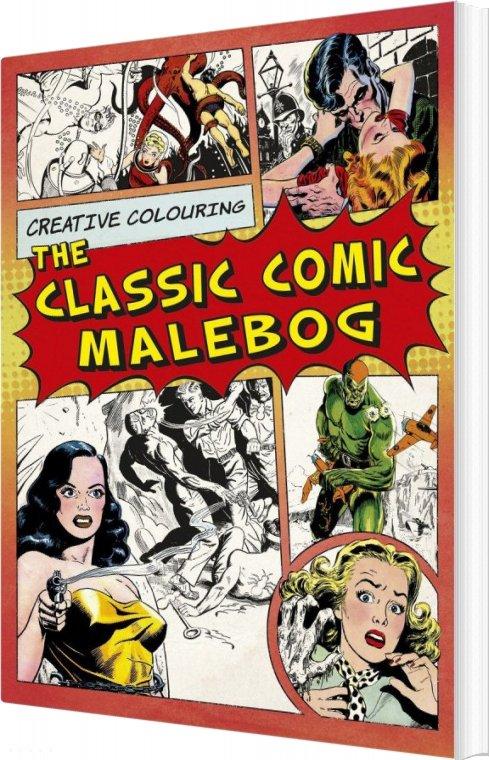 Image of   Creative Coloring - The Classic Comic - Malebog - Diverse - Bog