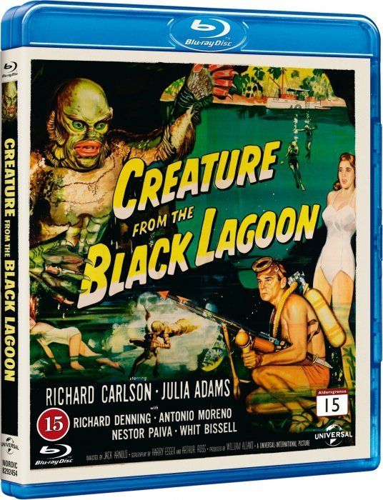 Image of   Creature From The Black Lagoon - Blu-Ray