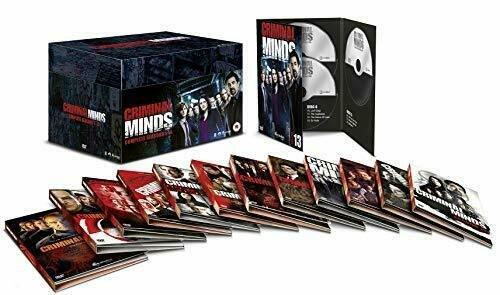Billede af Criminal Minds - Sæson 1-13 - Komplet Boks - DVD - Tv-serie