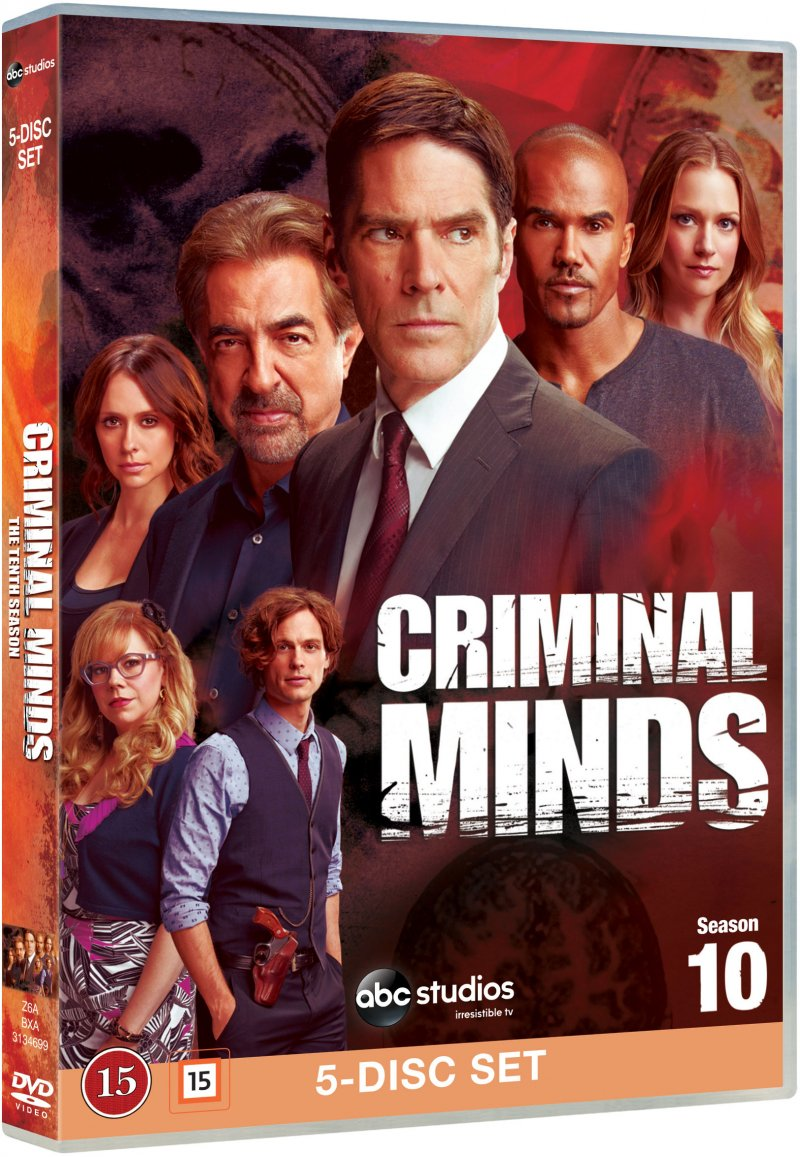 Image of   Criminal Minds - Sæson 10 - DVD - Tv-serie