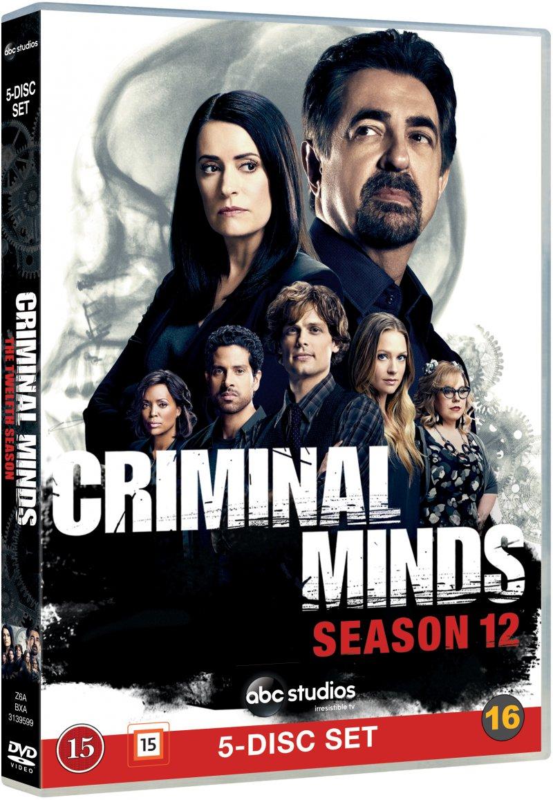 Image of   Criminal Minds - Sæson 12 - DVD - Tv-serie
