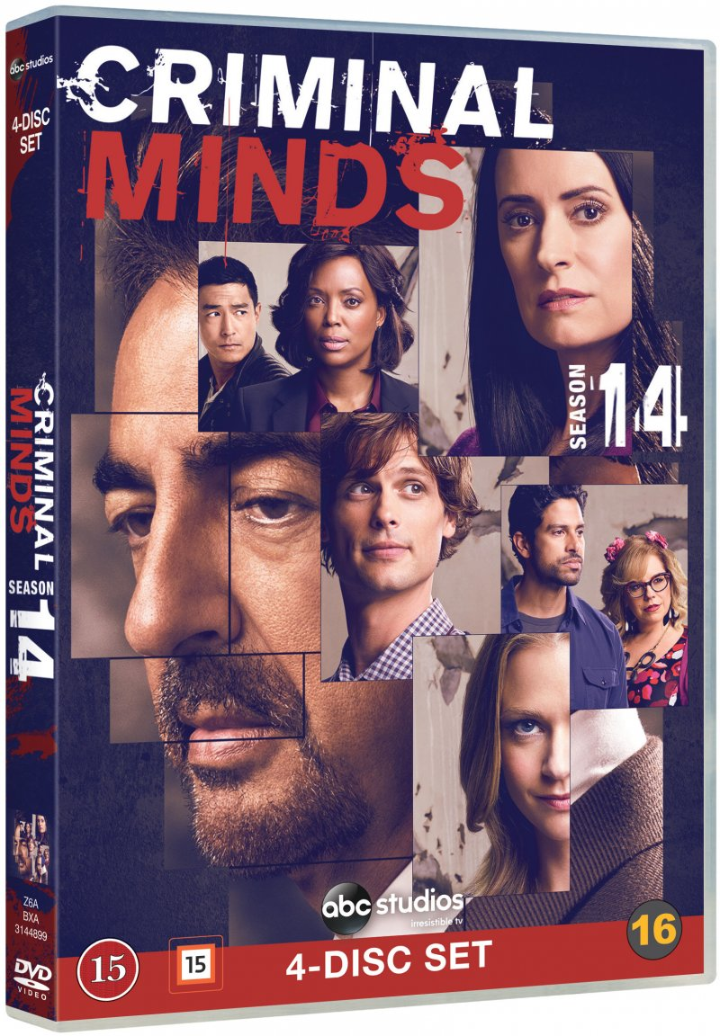 Image of   Criminal Minds - Sæson 14 - DVD - Tv-serie