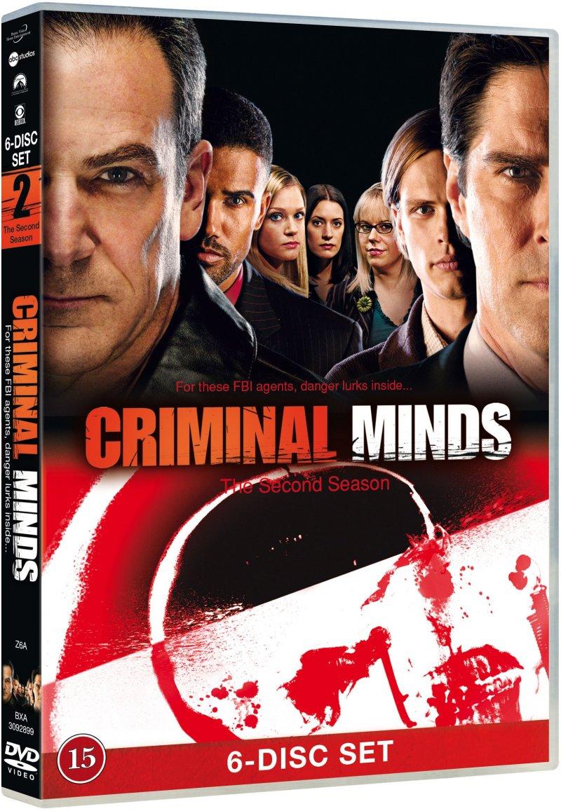 Image of   Criminal Minds - Sæson 2 - DVD - Tv-serie