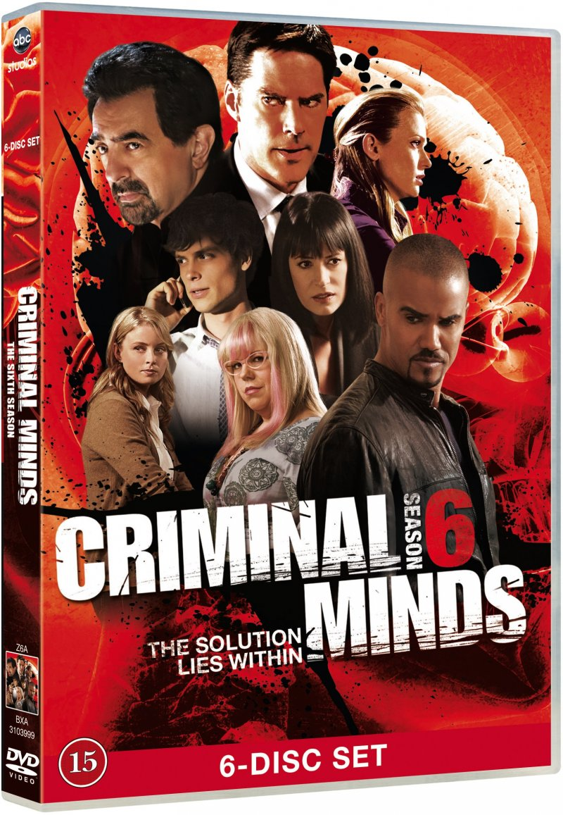 Image of   Criminal Minds - Sæson 6 - DVD - Tv-serie