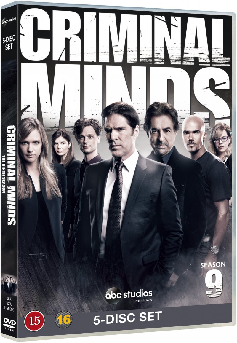 Image of   Criminal Minds - Sæson 9 - DVD - Tv-serie