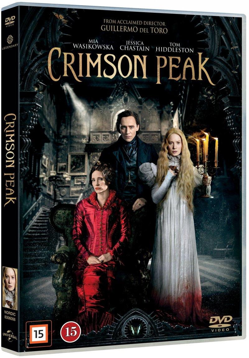 Image of   Crimson Peak - DVD - Film