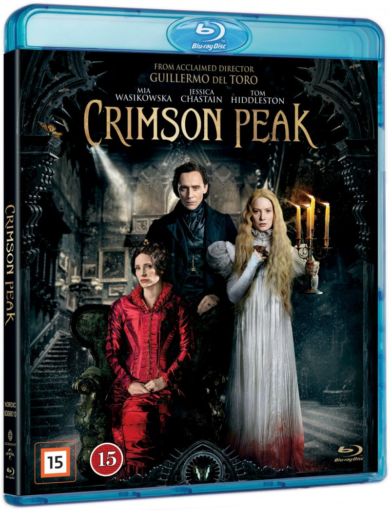 Image of   Crimson Peak - Blu-Ray