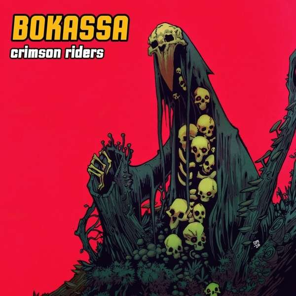 Image of   Bokassa - Crimson Riders - CD