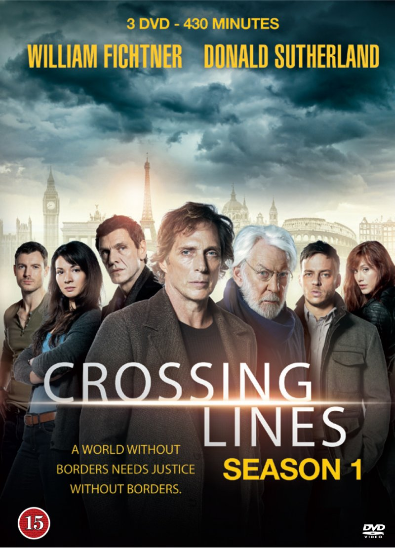 Image of   Crossing Lines - Sæson 1 - DVD - Tv-serie