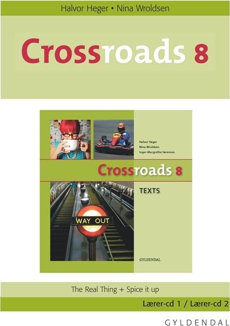 Image of   Crossroads 8 Lærer-cd - Inger-margrethe Sørensen - Bog